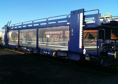 Réalisation de 2 ensembles de wagons transporteurs de voitures